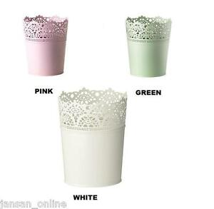 Ikea Skurar Plant Pot Available In White Green Pink Steel Buy