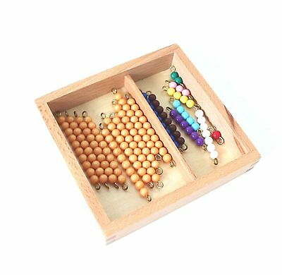NEW Montessori Mathematics Material - Teen Beads and Box