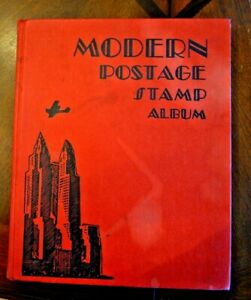 CatalinaStamps-Modern-Postage-Stamp-Album-Scott-1938-w-50-Stamps-Lot-D50