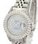 Ladies-Rolex-Datejust-26mm-Blue-MOP-Diamond-Dial-Diamond-Bezel-1-90CTW-Quickset thumbnail 1