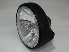 Klarglas Scheinwerfer H4 Suzuki GS 500 E SCHWARZ GS500E black headlight