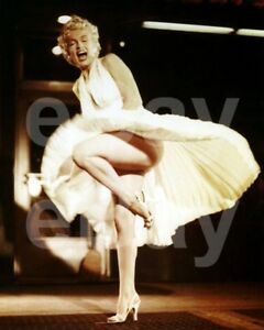 The-Seven-Year-Itch-1955-Marilyn-Monroe-10x8-Photo