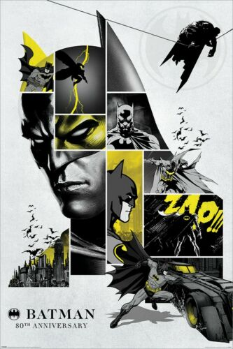 Batman 80th Anniversary Maxi Poster 61 x 91,5 cm