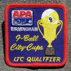 Lmh Patch Apa Ltc Qualifier Équipe City Tasses Championnats 9 Ball Pool Joueurs