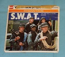 vintage SWAT S.W.A.T. VIEW-MASTER REELS with booklet
