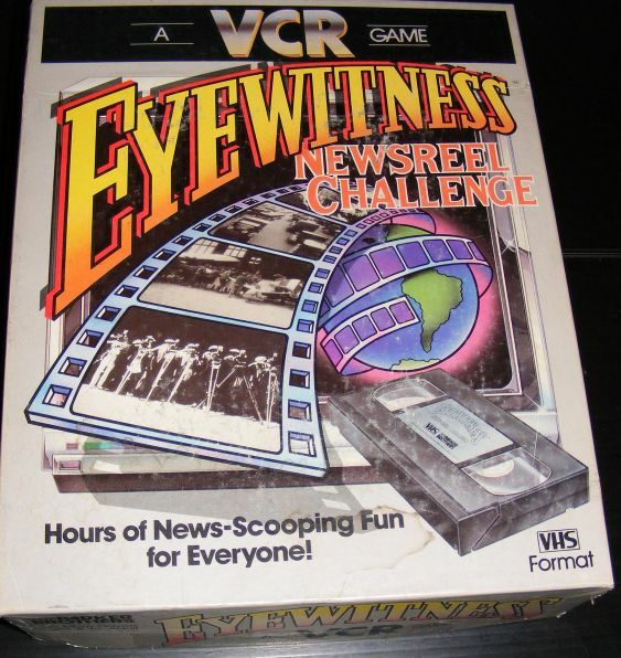1985 Eyewitness Newsreel Challenge VCR Game