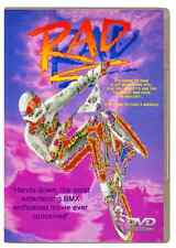 RAD DVD (HIGH QUALITY) -1986 WIDESCREEN SPECIAL EDITION BMX MOVIE NEW and SEALED