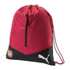 f9f91395e054 Details about PUMA ARSENAL FC PERFORMANCE GYM SACK Backpack Bag Football  Soccer Team Gear
