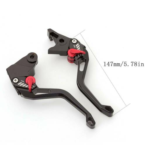 For Yamaha FZ-07 MT-07 FZ-10 MT-10 MT10 MT09 3D CNC Brake Clutch Levers Short