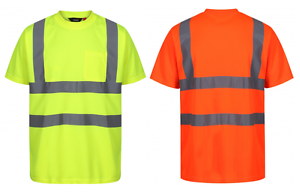 Traega-TTS11-Hi-Vis-Visibility-Safety-Workwear-Short-Sleeve-T-Shirt