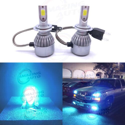 H7 LED Headlights Bulb 55W 8000LM Kit High//Low Beam 8000K Ice Blue Plug And Play
