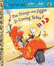 Little Golden Book: The Thinga-Ma-Jigger Is Coming Today! by Tish Rabe (2010, Hardcover)