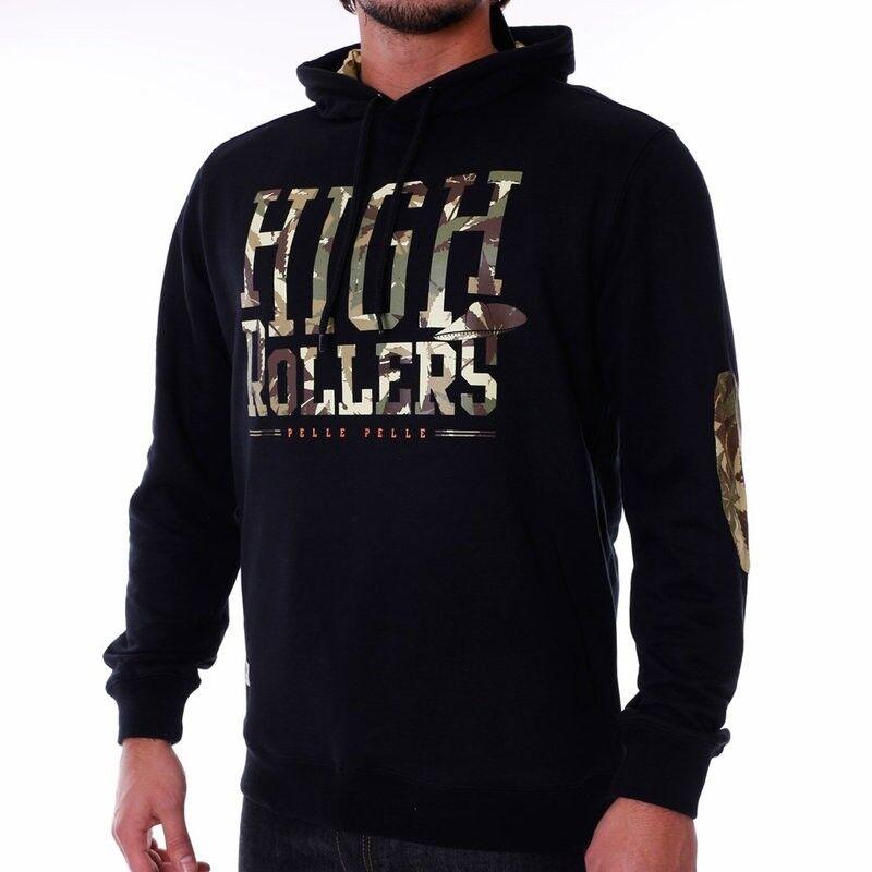 Pelle Pelle High Rollers Hoodie   Kapuzenpullover   schwarz-weed
