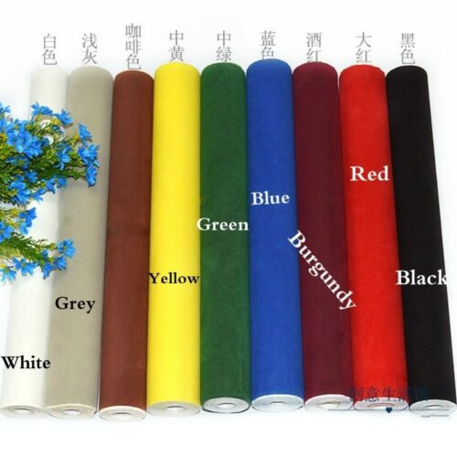 5M Velvet Sticker Fabric Self Adhesive Velour Wallpaper Jewel Showing Background