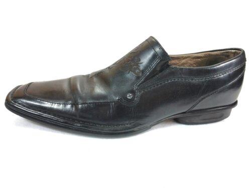 By Mescal 9 Lounge Loafer da da pelle Size Nason Scarpe Mark uomo slittamento nera in dgawxw4Sq