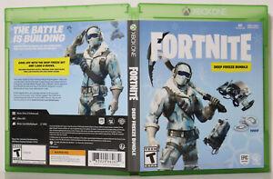 What Is The Fortnite Deep Freeze Bundle Fortnite Deep Freeze Bundle Microsoft Xbox One 2018 Fast Ship Ebay