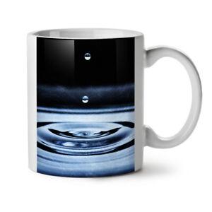 Water Drop Life NEW White Tea Coffee Mug 11 oz | Wellcoda