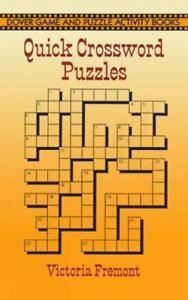 Quick Crossword Puzzles [Dover Children's Activity Books