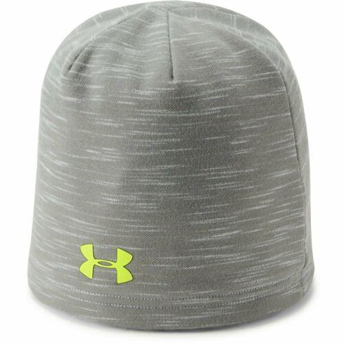 OSFA New Under Armour Boy/'s UA Storm Fleece Beanie Grey