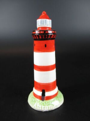 Leuchtturm Cuxhaven,10 cm aus Keramik Glanzoptik Souvenir Modell,Neu