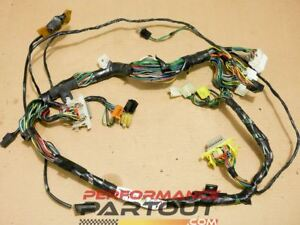 dashboard gauge cluster wiring harness 1g dsm 90 91 eclipse talonimage is loading dashboard gauge cluster wiring harness 1g dsm 90