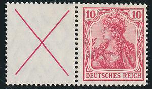 DR-1912-Zusammendruck-W-4-b-sauber-ungebraucht-Befund-Dr-Oechsner-Mi-420