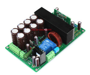 hifi irs2092 irfb4227 mono amplifier class d power amp board 1000w ebay. Black Bedroom Furniture Sets. Home Design Ideas