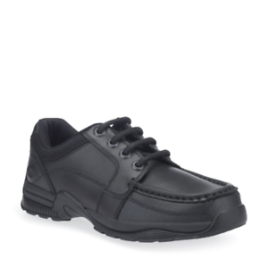 Start-Rite Childrens Boys Dylan Leather Lace Up School Shoes Black