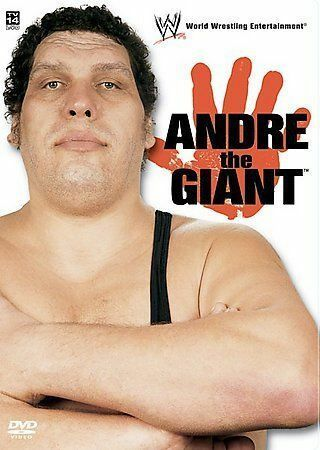 WWF - Andre The Giant Larger Than Life DVD, 2005  - $0.99