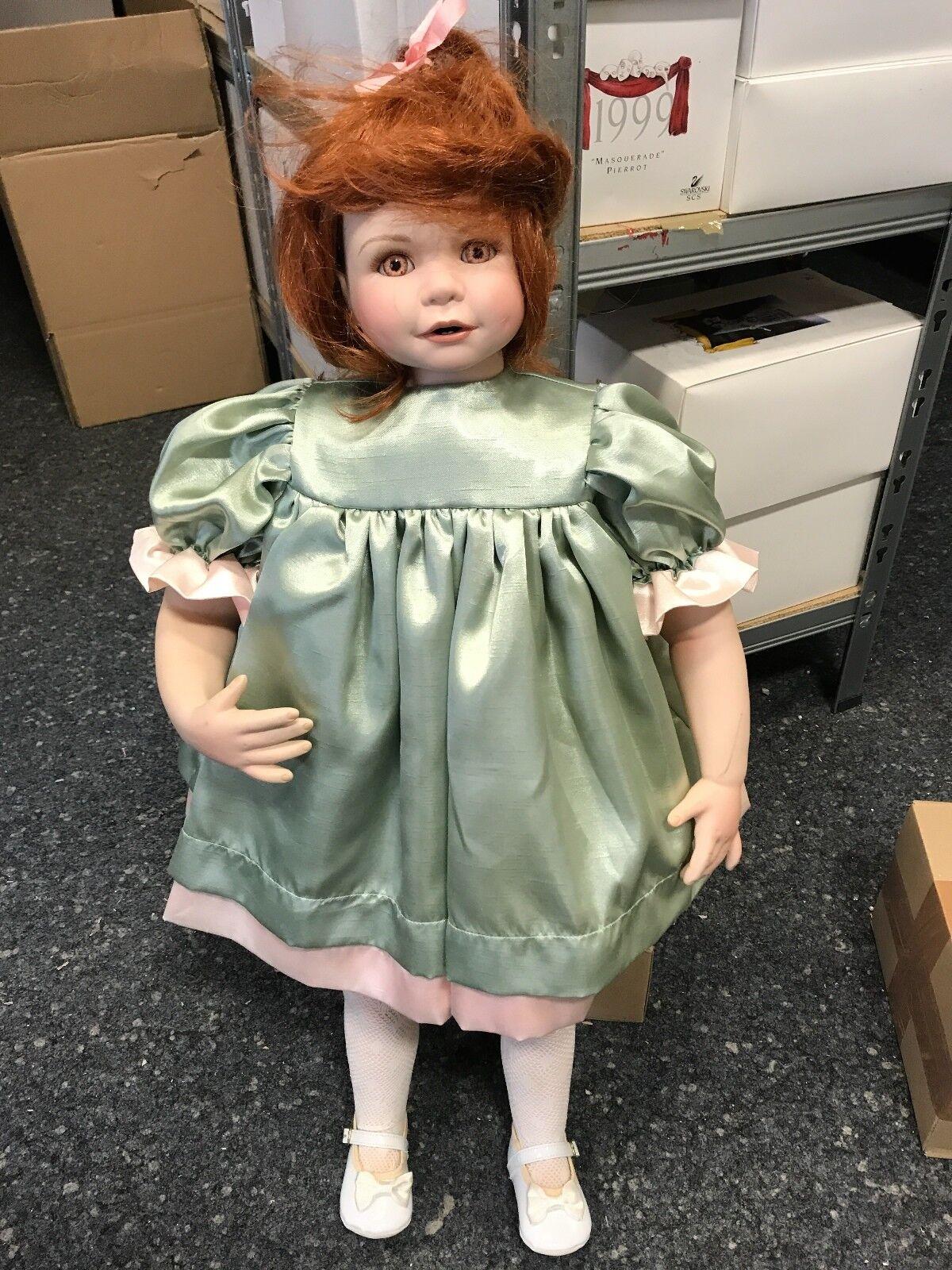 Artistas muñeca muñeca de porcelana 71 cm. top estado.