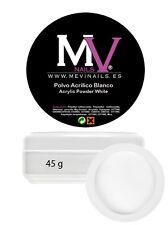 Polvere Acrilica Ultra Bianco Mevinails 45 gr Monomero Porcellana unghie Nails