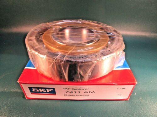 MRC, FAG, Timken 7411 AM Single Row Angular Contact Bearing SKF 7411AM