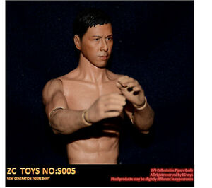 ZC Toys 1/6 Asian Color Narrow Shoulder Muscular Male
