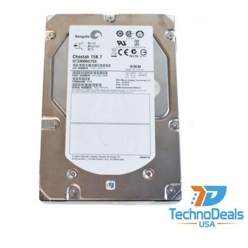 "SEAGATE//HITACHI ST3300657SS 300GB 6G 15K 3.5/"" SAS HARD DRIVE"