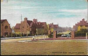 London - Golders Green - Hampstead Way - Arcadian postcard 1917 pmk
