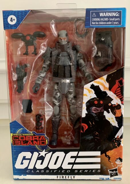 Hasbro Target Cobra Island GI Joe Classified Series Firefly Figure Brand New