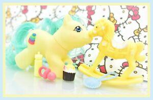 My-Little-Pony-MLP-Vtg-G1-Style-HQG1C-Playful-Newborn-Baby-TIPPER-Custom