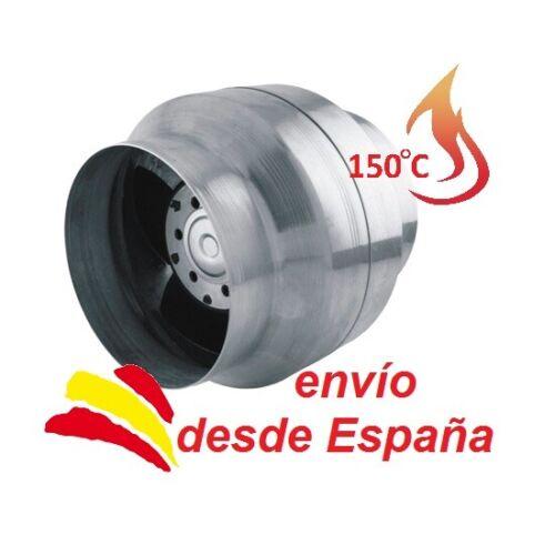 Aire Caliente 100mm Ventilador Extractor Fan Alta Temperatura 150°C MM VOK 120