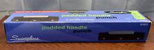 Swingline Padded Handle Three Hole Punch Standard Used