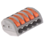 thumbnail 16 - 2/3/4/5/8 Way Reusable Spring Lever Terminal Block Electric Cable Wire Connector