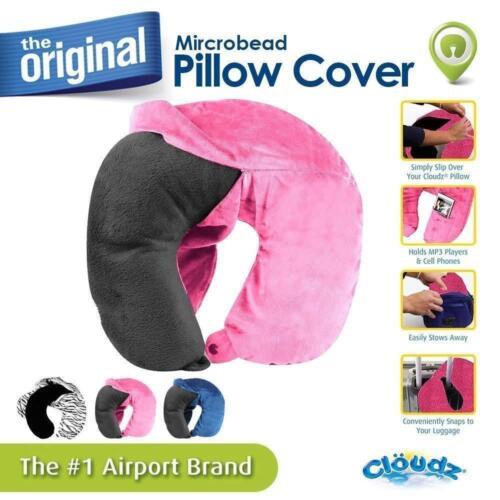 Blue Cloudz Washable Travel Neck Pillow Cover