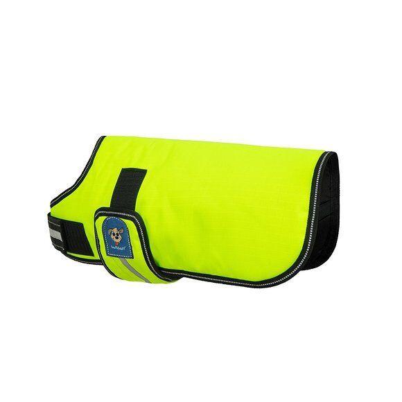 Knuffelwuff Hundemantel Funktionstextil reflektierend Neon Größen Größen Größen 25cm-70cm     Lebhaft  e43b70