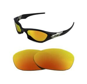 eafc435a52a15 NEW POLARIZED CUSTOM FIRE RED LENS FOR OAKLEY VINTAGE VALVE ...