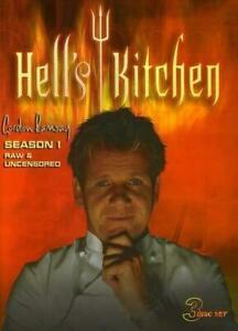 Hells Kitchen Season 1 Dvd 2008 3 Disc Set Free