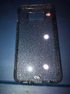 SAMSUNG-GALAXY-S10e-Casemate-CRYSTAL-Phone-Case-Silver-Glitter-Clear