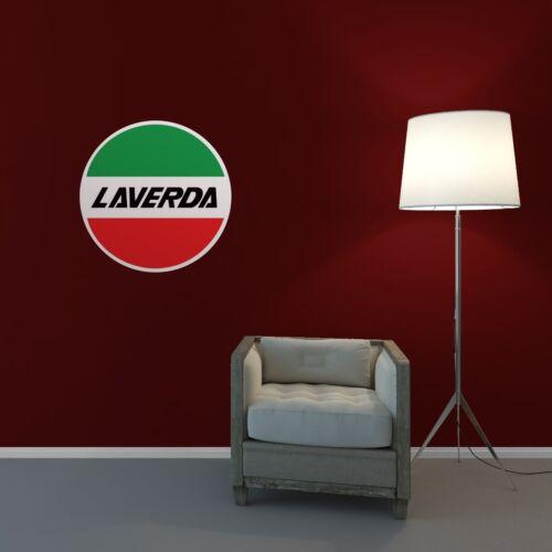 Laverda Motos Wall Art Autocollant Salon Chambre à coucher garage atelier Vinyle