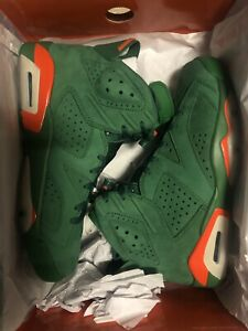 half off 4e3c1 46177 Details about BRAND NEW GATORADE GREEN LIKE MIKE JORDAN 6!!! SIZE 8!!! 1 3  5 6 8 11 concord
