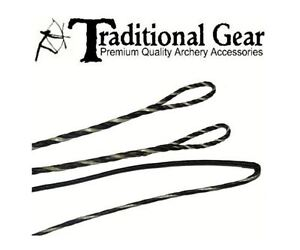 """51/"""" Camo Fast Flight Recurve Bowstring Bow String Traditional"""