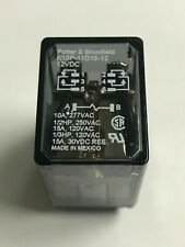 PLUG IN 12VDC DPDT 10A TE CONNECTIVITY//POTTER /& BRUMFIELD KUEP-11D15-12 POWER RELAY