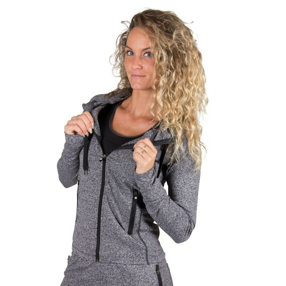 Gorilla Wear Shawnee Grau Zipped Hoodie - Mixed Grau Shawnee 03e31b